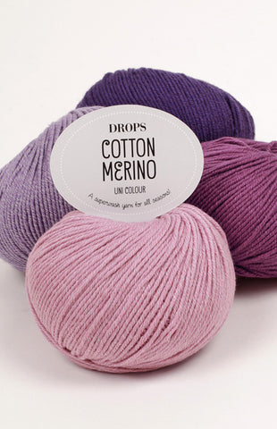 Buy DROPS Cotton Merino Yarn from Cotton Pod UK