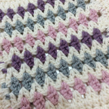 COTTON POD Crochet Kit ~ Dinky Diamonds Baby Blanket