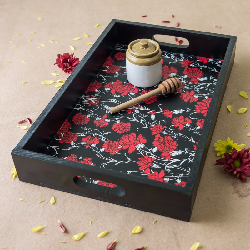 Handcrafted Carnations Party Tray
