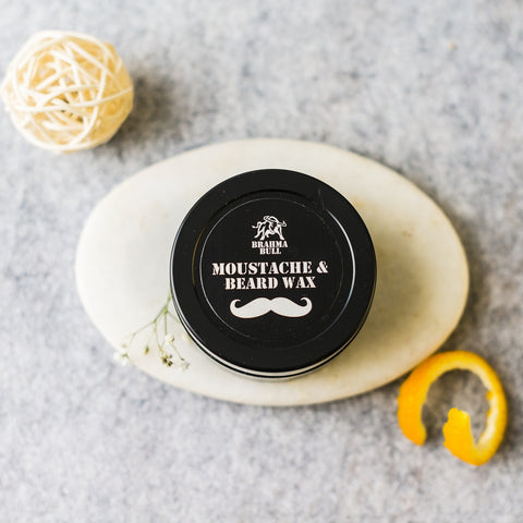 All Natural Moustache And Beard Wax