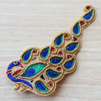 Pretty Ponytails Peacock Ethnic Hair Accessory