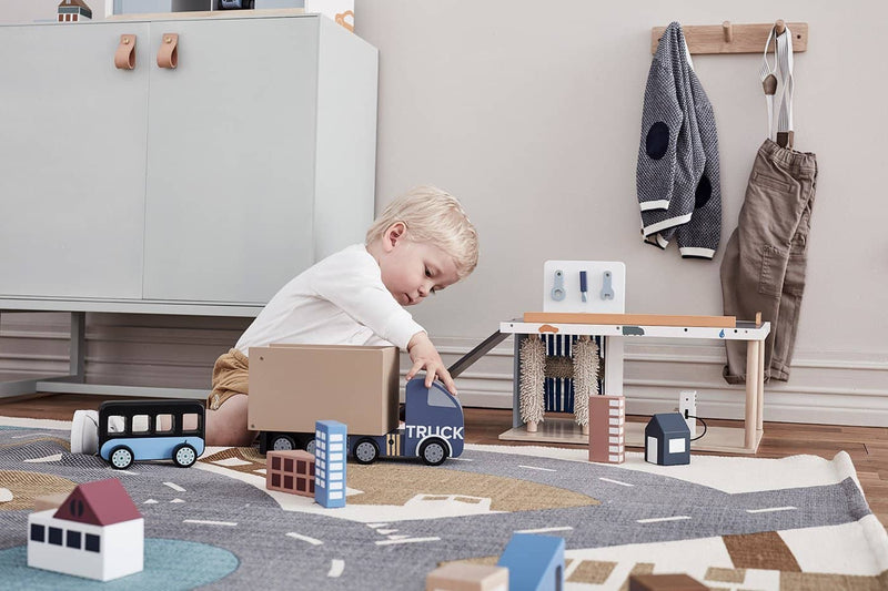 Kid's Concept - AIDEN Large Wooden Truck, Play Set, Kids Concept - All Mamas Children