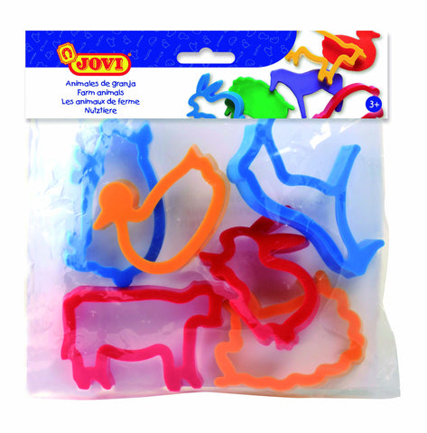 BAG OF MOULDS - FARM ANIMALS