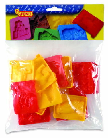BAG OF MOULDS - 12 MOULDS