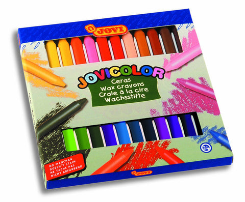 JOVI WAX CRAYONS CASE - 24 Color