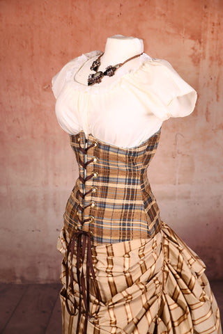Wench Corset Rad Plaid - NF/P