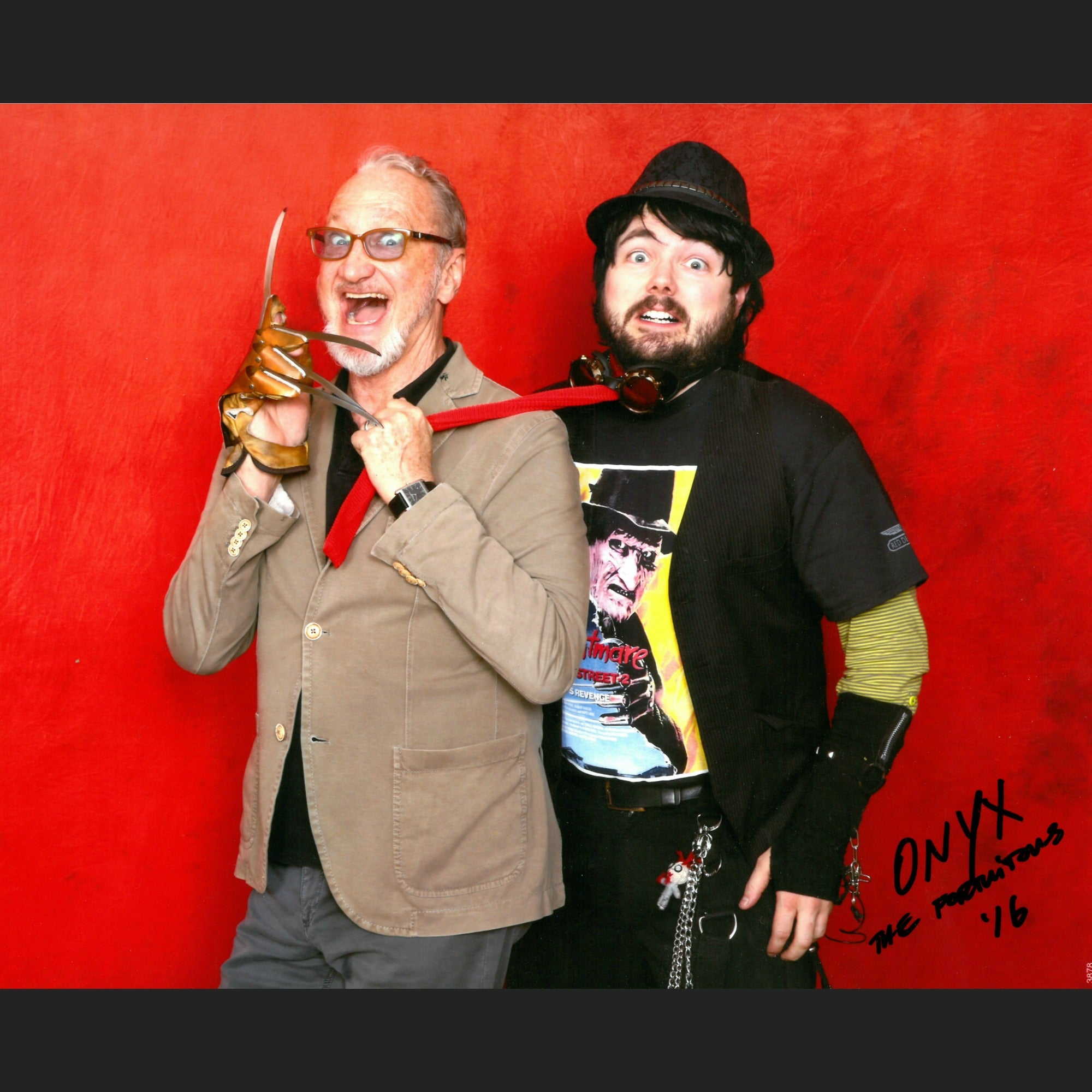 Onyx the Fortuitous and Robert Englund Professional Signed Photo - Plus FREE item!
