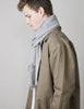 Tweed Emphasize Scarf - Ash - Narrow