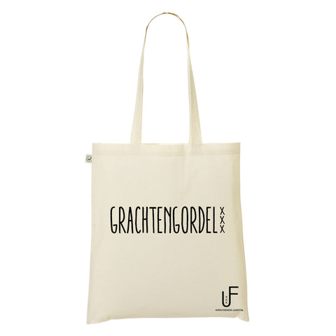 Grachtengordel Organic Shopping bag Fashion Junky Amsterdam
