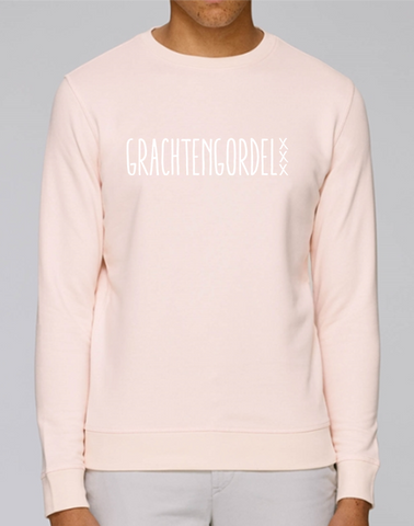 Grachtengordel Sweater Pink Fashion Junky Amsterdam Rose Trui Unisex