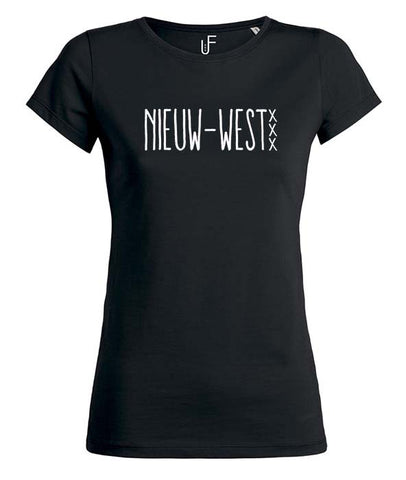 Nieuw-west T-shirt Fashion Junky Amsterdam tshirt Woman