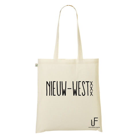 Nieuw west Organic Shopping bag Fashion Junky Amsterdam