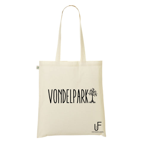 Vondelpark Organic Shopping bag Fashion Junky Amsterdam