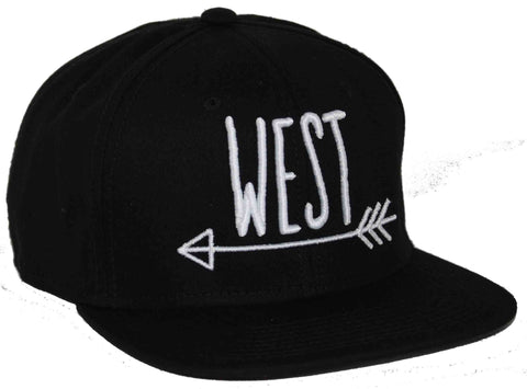 West Snapback cap pet Fashion Junky Amsterdam