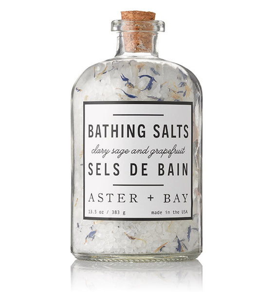 Bathing Salts (Clary Sage & Grapefruit)
