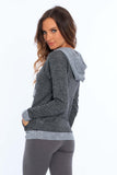 Women's 2-Color Twisted Yarn Sweatshirt