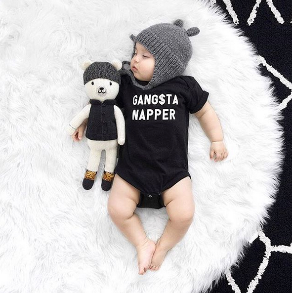 Gangsta Napper Onesie