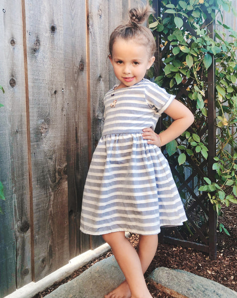 Emmy Dress in Stripe
