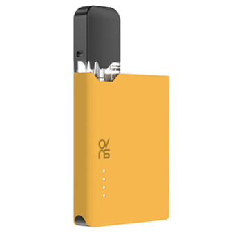 ovns jc01 JUUL Compatible Pod Vape Device Kit - Refillable Pod Vaporizer (Yellow)
