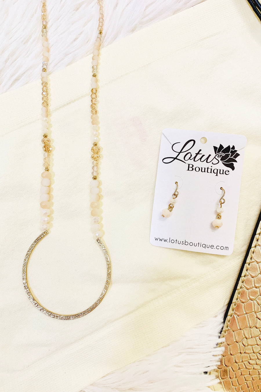 Gold Accessory Set