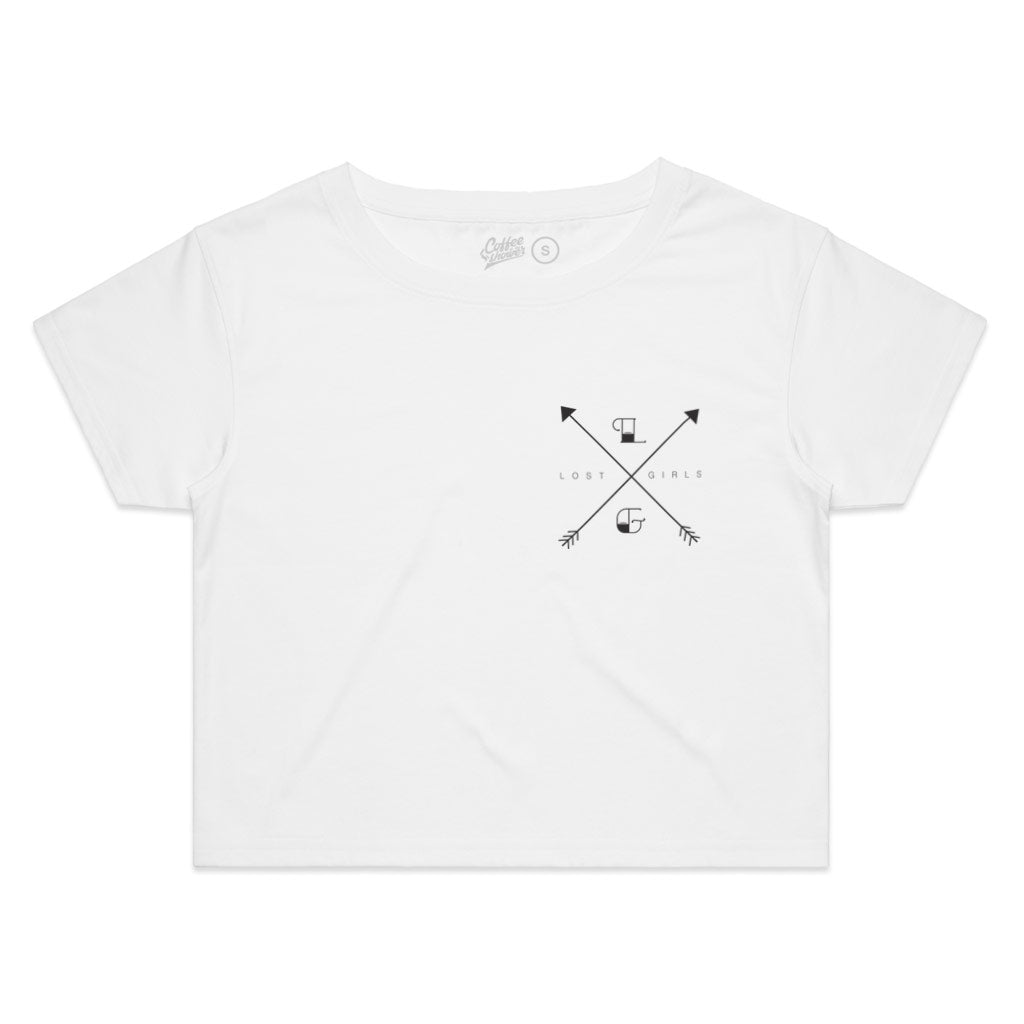 Lost Girls Emblem Boxy Crop Shirt