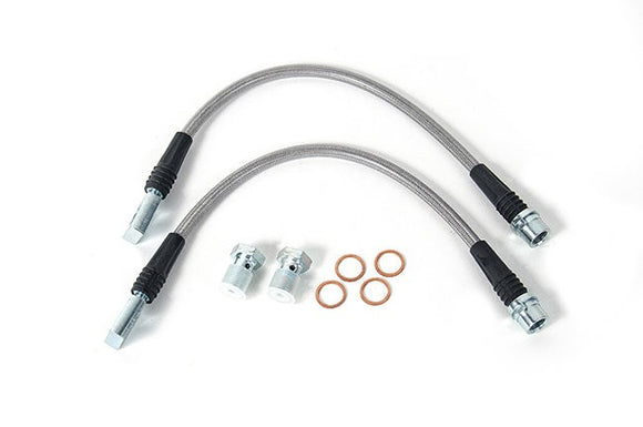 USP Stainless Steel Rear Brake Lines - Audi RS6/RS4
