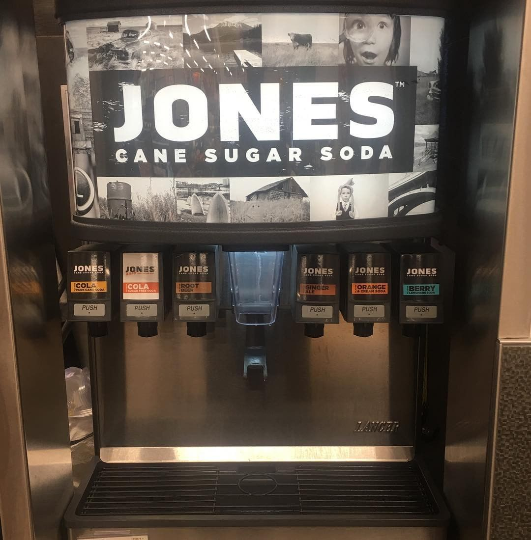 Jones Cane Sugar Fountain | Jones Soda Co