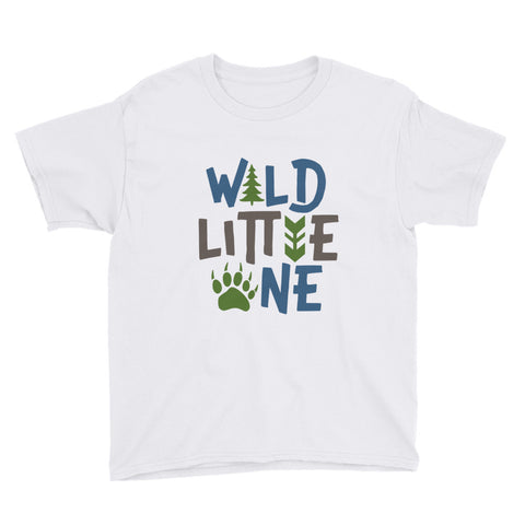 Wild Little One Youth Short Sleeve T-Shirt - Apparelized