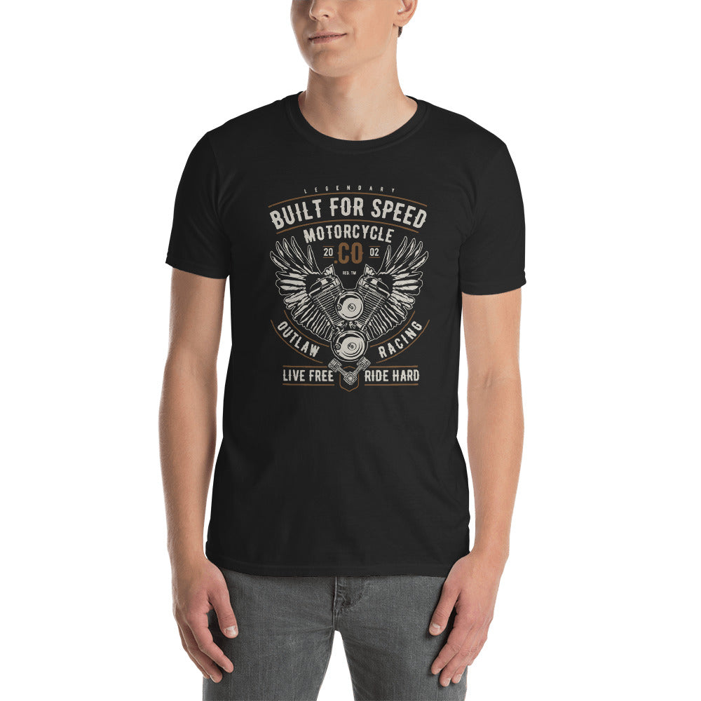 Built for Speed Short-Sleeve Unisex T-Shirt - Apparelized