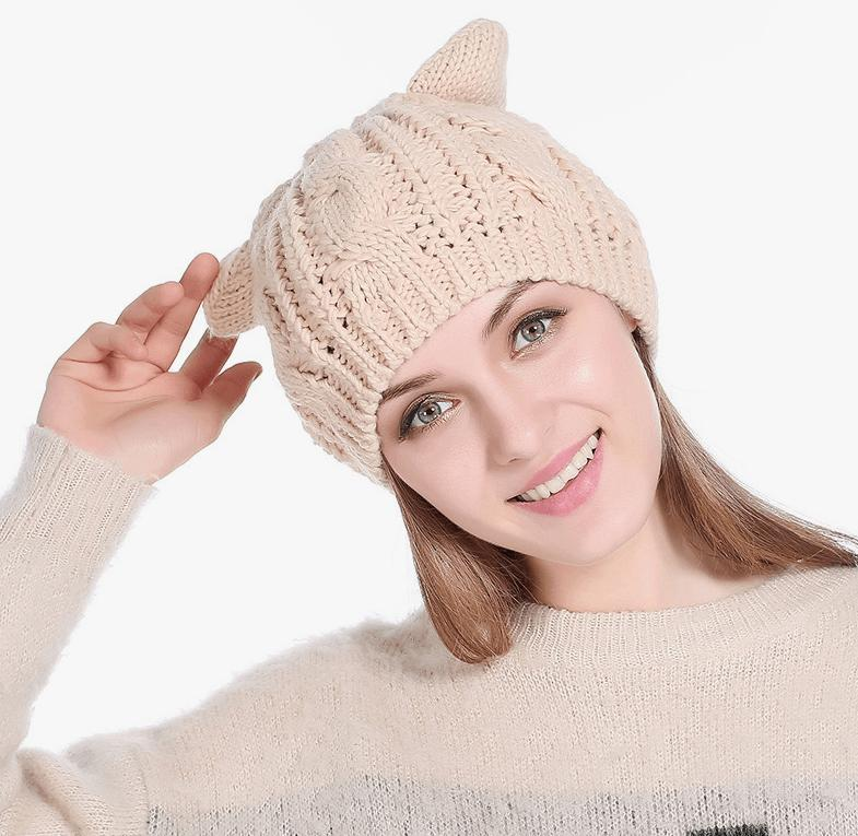Snug Cat Ear Beanies 7 Colors