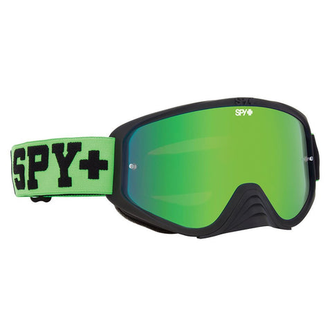Spy Optic Jersey Green Woot Race Goggle w/Smoke/Green Spectra Lens - Spy Optics - [product_type] - Specialty Motorsports
