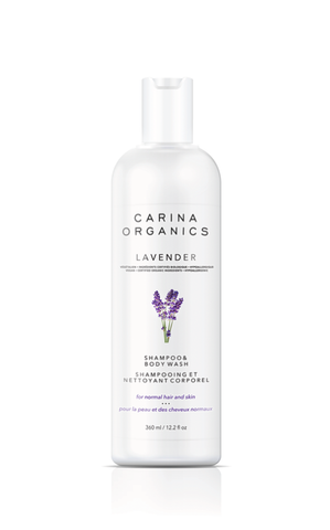 Lavender Shampoo and Body Wash - Carina Organics