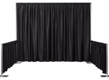 Booth Drape - 8' High - Perfect Party Place