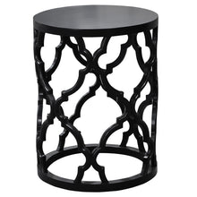 Mustique Side Table Black