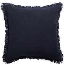 Monaco Fringe Cushion Slate