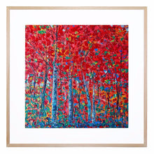 Forest Dreams Acrylic Print with Frame