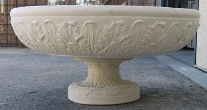 Acanthus Bowl & Base
