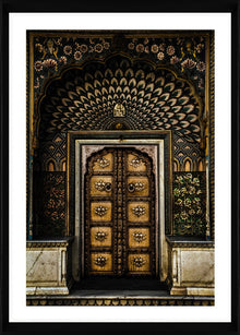 Moroccan Door I Photographic Framed Print