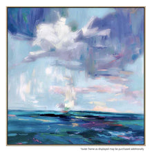 Storm Break Canvas Painting with Floating Frame