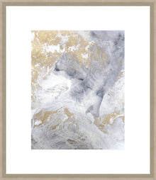 Gold Fusion II Framed Print