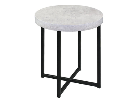 Atlanta Dining Table with Faux Concrete 165cm