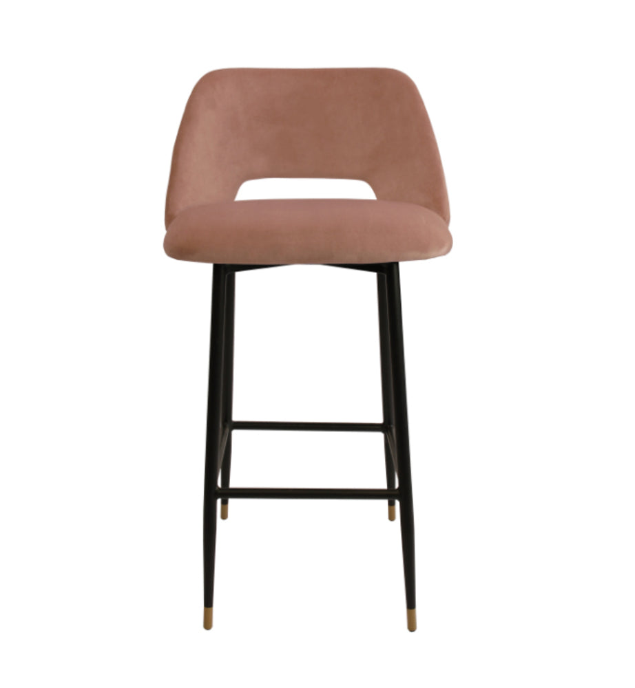Milan Bar Stool Blush