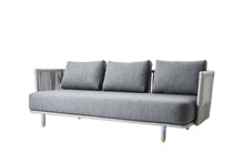 Moments 3 Seat Outdoor Sofa Grey