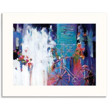 Just Visiting Framed Giclee Print