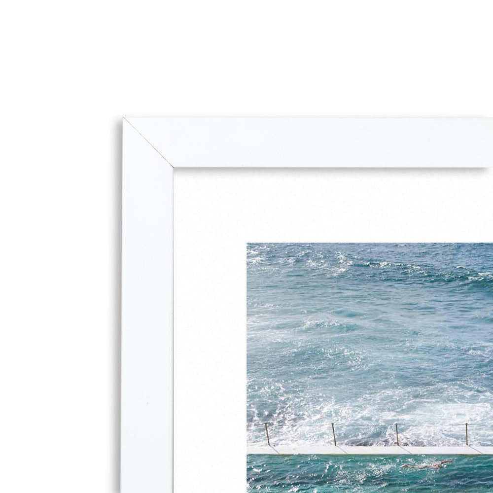 Bondi Pools 3 Framed Photographic Print