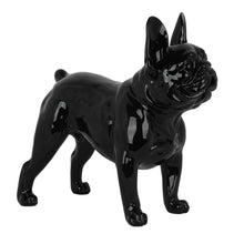 French Bulldog Sculpture Black Gloss