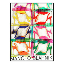 Manolo Canvas Print with Floating Frame