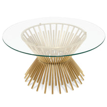 Roberts Coffee Table Brushed Gold