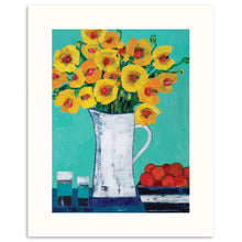 Gale's Poppies Framed Giclee Print