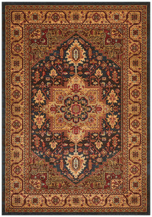 Antique Heriz Design Rug Multi